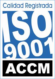 Centro certificado en la norma UNE-EN-ISO 9001:2015